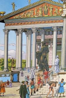 Extrait de Alix -HS11- Rome - Itinéraires avec Alix