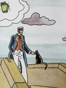 Extrait de Corto Maltese (Divers) -4- Venise - Itinéraires avec Corto Maltese