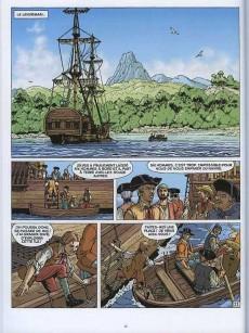 Extrait de Les incontournables de la littérature en BD -1- L'Île au trésor