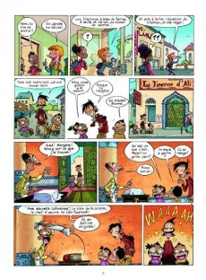 Extrait de Les quatre Quarts -1- La Taverne d'Ali Baba