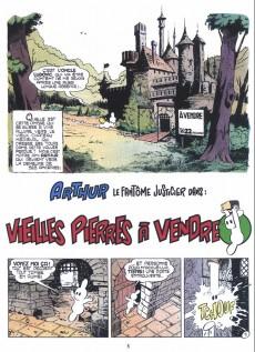 Extrait de Arthur le fantôme justicier (Arapu) -1- Les mousquetaires irascibles