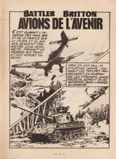 Extrait de Battler Britton (Imperia) -179- Avions de l'avenir