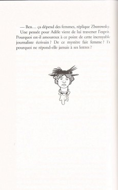 Extrait de Adèle Blanc-Sec (Les Aventures Extraordinaires d') -HS- Le roman du film