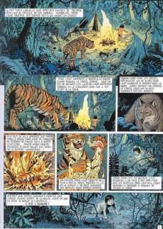 Extrait de Les incontournables de la littérature en BD -5- Le Livre de la jungle