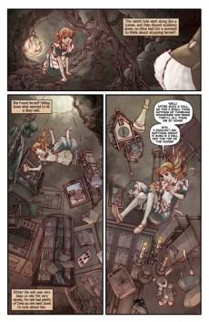 Extrait de Alice au Pays des Merveilles (Awano/Reppion/Moore) -1- Alice au Pays des Merveilles