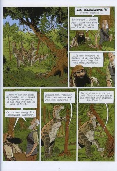 Extrait de Les incontournables de la littérature en BD -6- Le Monde perdu - Tome 1