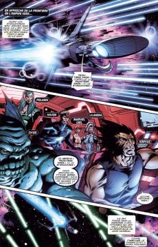Extrait de Marvel Universe (Panini - 2007) -20- War of Kings (3/7)