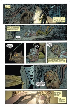 Extrait de The immortal Iron Fist (2007) -INT05- Escape from the Eighth City