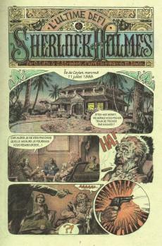 Extrait de L'ultime Défi de Sherlock Holmes - L'ultime défi de Sherlock Holmes