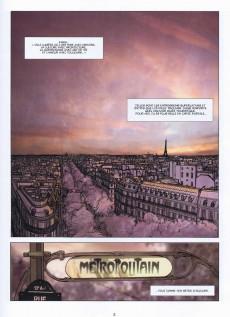 Extrait de Metropolitan -1- Borderline