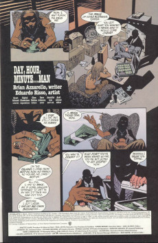 Extrait de 100 Bullets (1999) -8- Day, hour, minute... man