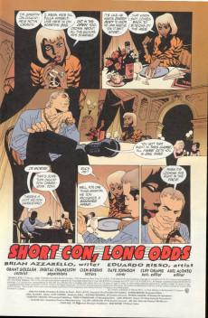 Extrait de 100 Bullets (1999) -7- Short con, long odds (2)