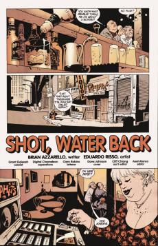 Extrait de 100 Bullets (1999) -4- Shot, water back (1)