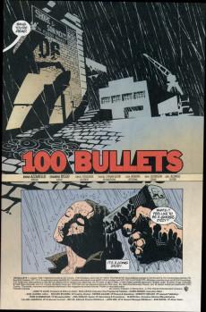 Extrait de 100 Bullets (1999) -1- 100 bullets (1)