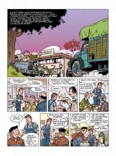 Extrait de Jacques Gipar (Une aventure de) -1- Le gang des pinardiers