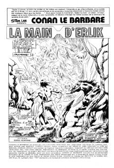 Extrait de Conan le barbare (Éditions Héritage) -105106- La main d'erlik