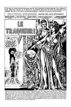 Extrait de Docteur Strange (Éditions Héritage) -12- Le traqueur