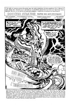 Extrait de Docteur Strange (Éditions Héritage) -34- Une mort pour l'immortalité