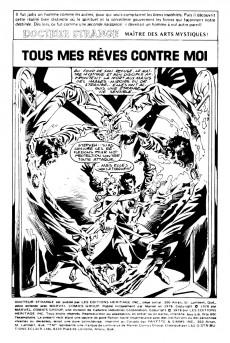 Extrait de Docteur Strange (Éditions Héritage) -56- Tous mes rêves contre moi