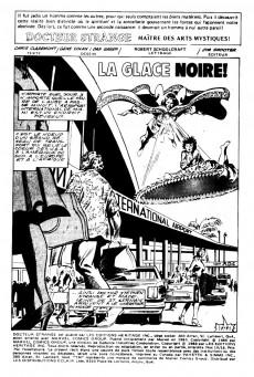 Extrait de Docteur Strange (Éditions Héritage) -1516- La glace noire!