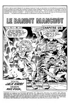 Extrait de Kamandi (Éditions Héritage) -910- Le bandit manchot