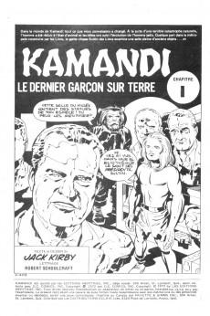 Extrait de Kamandi (Éditions Héritage) -1314- Tome 13
