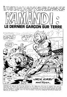 Extrait de Kamandi (Éditions Héritage) -1920- Tome 19
