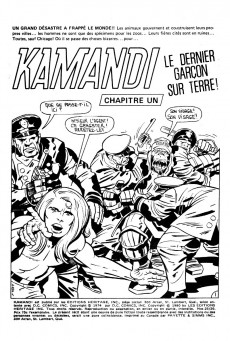 Extrait de Kamandi (Éditions Héritage) -2526- Tome 25
