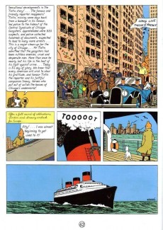 Extrait de Tintin (The Adventures of) -INT01- Tintin in America - Cigars of the Pharaoh - The Blue Lotus