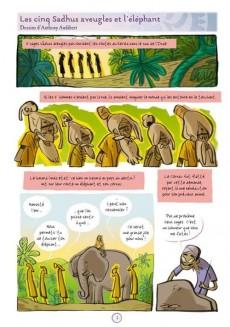 Extrait de Contes du monde en bandes dessinées - Contes des Indes en bandes dessinées