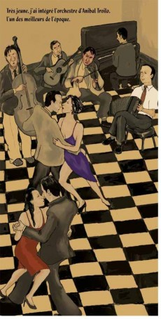 Extrait de BD World - Astor Piazzolla