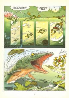 Extrait de Garulfo -1- De mares en châteaux