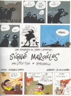 Extrait de Jimmy Laventure (Une aventure de) -2- Signé Maroilles