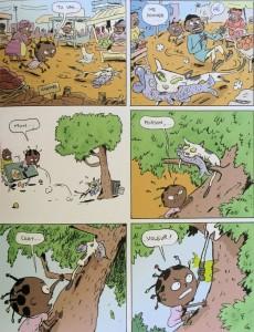 Extrait de Akissi -1- Attaque de chats