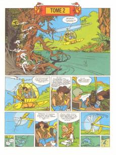 Extrait de Franka (Les Humanoïdes Associés)  -2- Les dents du dragon Tome 2