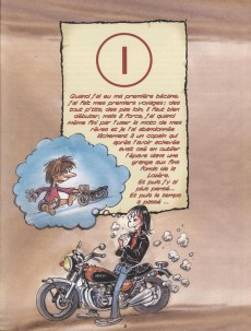 Extrait de Les mémoires d'un motard -3- Quand je serai grand, je ferai le tour du monde