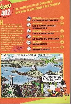 Extrait de Picsou Magazine -402- Picsou Magazine N°402