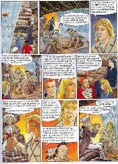 Extrait de Les incontournables de la littérature en BD -16- Le Dernier des Mohicans