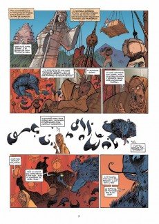 Extrait de SinBad -3- Les Ombres du Harem