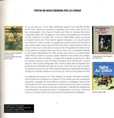 Extrait de Tintin - Divers -2- Tintin au Congo de Papa
