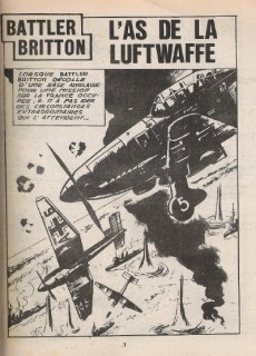 Extrait de Battler Britton (Imperia) -389- L'As de la Luftwaffe