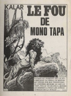 Extrait de Kalar -199- Le fou de Mono Tapa