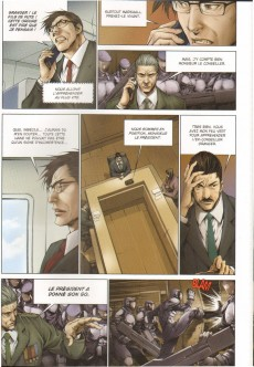 Extrait de Les légions de la haine -2- L'ennemi invisible