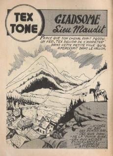 Extrait de Tex-Tone -63- Gladsome, lieu maudit