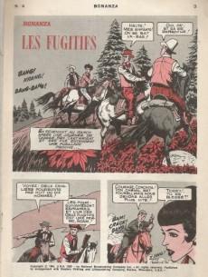Extrait de Bonanza (Vedettes T.V.)  -4- Les fugitifs