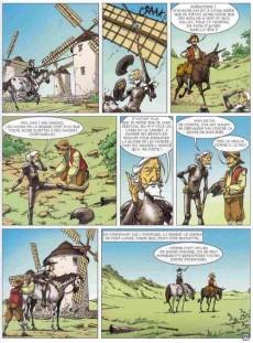 Extrait de Les incontournables de la littérature en BD -24- Don Quichotte