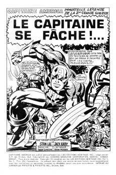 Extrait de Capitaine America (Éditions Héritage) -1- Le capitaine se fâche !...