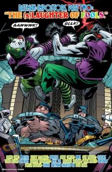 Extrait de Detective Comics (1937) -868- Impostors (Part 2) : The (s)laughter of fools