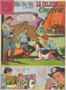 Extrait de Rin Tin Tin & Rusty (2e série) -19- La falaise des cheyennes