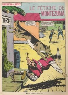 Extrait de Rin Tin Tin & Rusty (2e série) -93- Le fétiche de montezuma